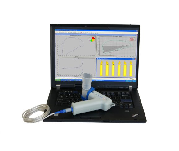 Spirometr lungtest handy